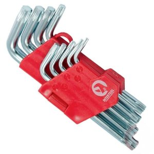 НАБОР КЛЮЧЕЙ TORX 9 шт Small INTERTOOL HT-0607 CrV