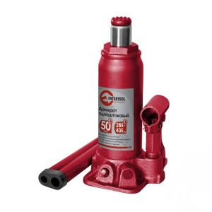 ДОМКРАТ ГИДРАВЛИЧЕСКИЙ 50т INTERTOOL GT0030